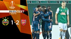 Rapid Wien Arsenal maç özeti