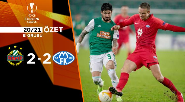 Rapid Wien Molde maç özeti