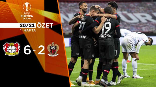 Bayer Leverkusen Nice maç özeti