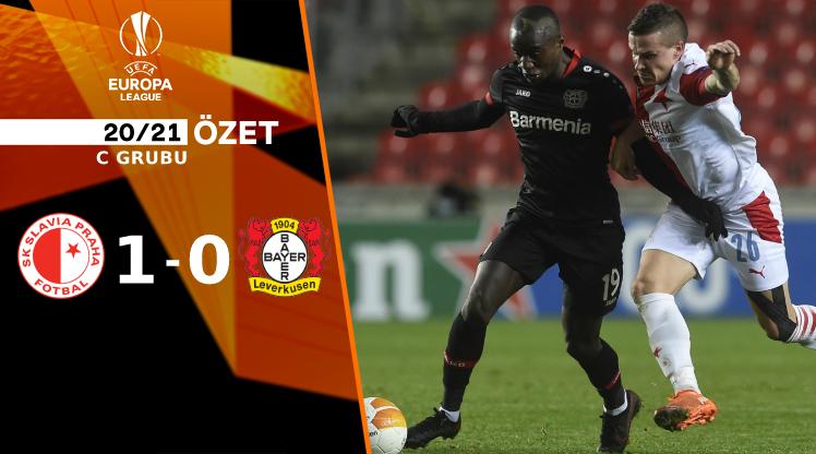 Slavia Prag Bayer Leverkusen maç özeti