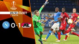 Napoli AZ Alkmaar maç özeti