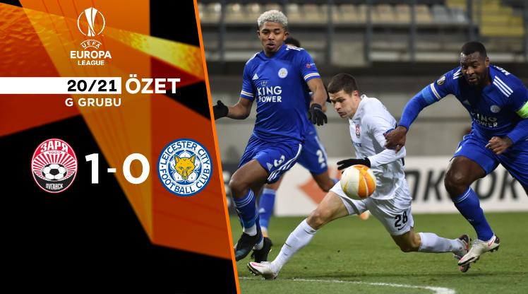 Zorya Luhansk Leicester City maç özeti