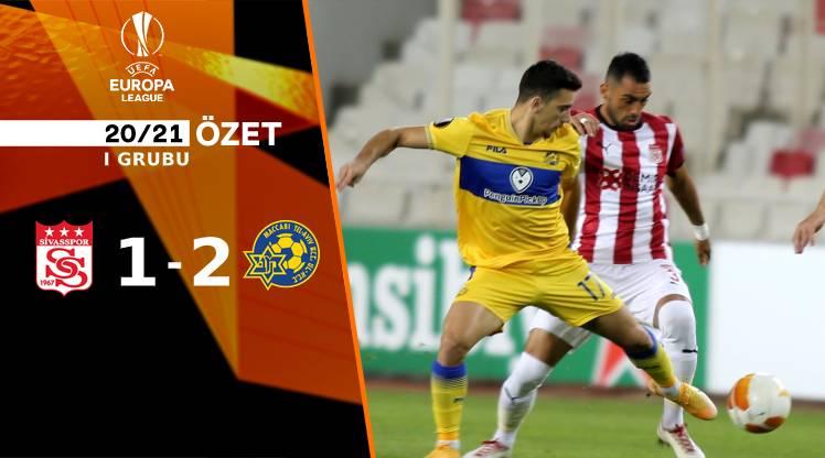 Demir Grup Sivasspor Maccabi Tel Aviv maç özeti