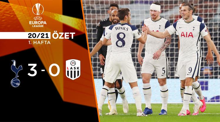 Tottenham Hotspur LASK Linz maç özeti
