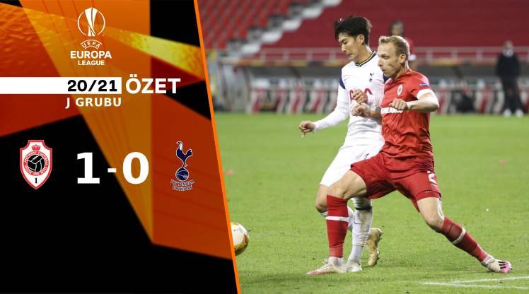 Antwerp Tottenham Hotspur maç özeti