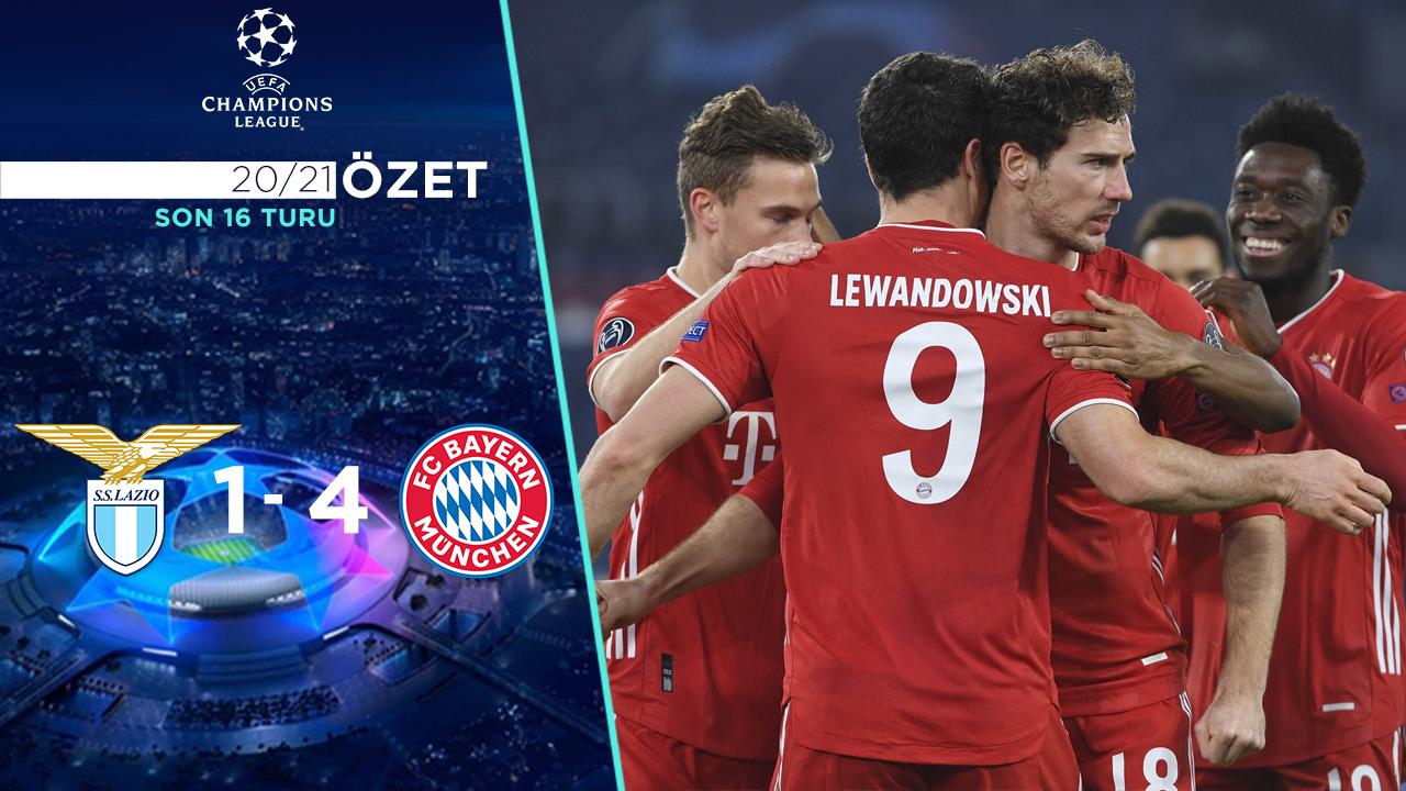 Lazio Bayern Münih maç özeti