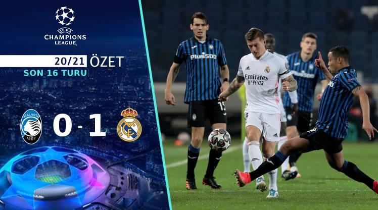 Atalanta Real Madrid maç özeti