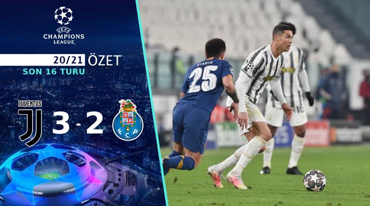 Juventus Porto maç özeti