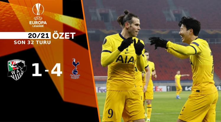 Wolfsberger AC Tottenham Hotspur maç özeti