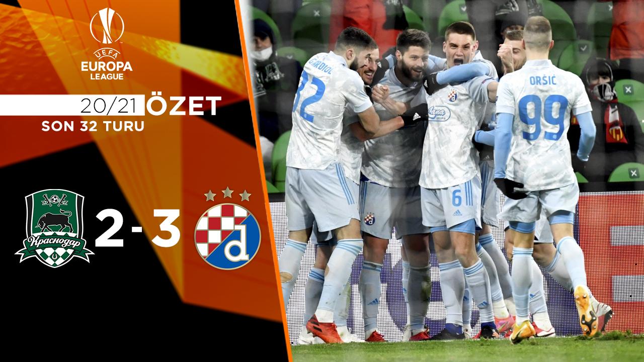 FC Krasnodar Dinamo Zagreb maç özeti