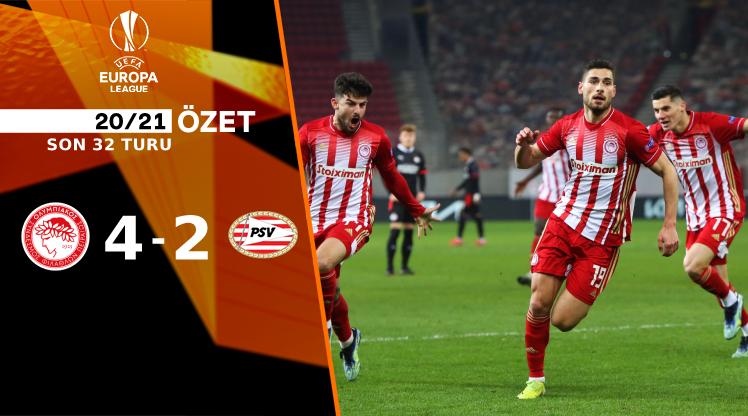 Olympiakos PSV Eindhoven maç özeti