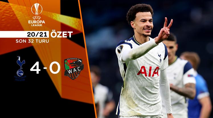 Tottenham Hotspur Wolfsberger AC maç özeti