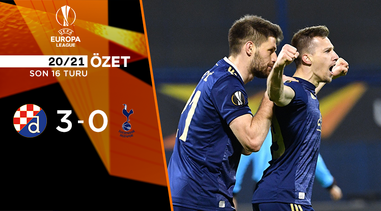 Dinamo Zagreb Tottenham Hotspur maç özeti