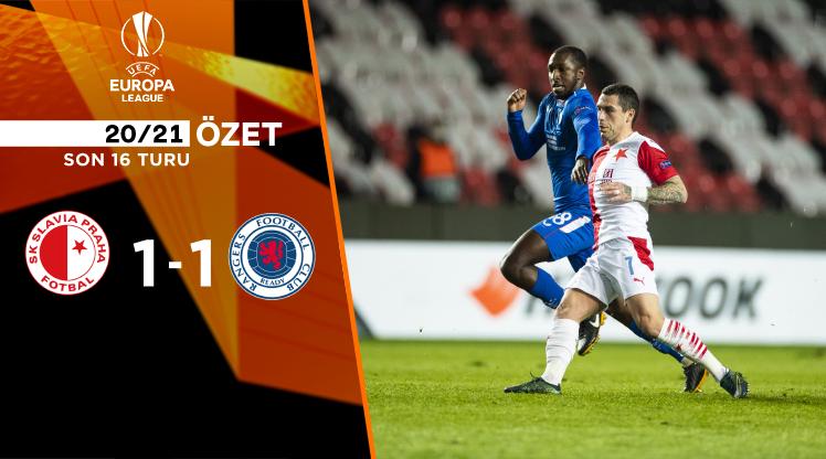Slavia Prag Rangers FC maç özeti