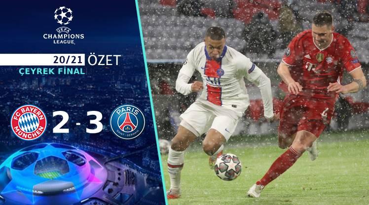 Bayern Münih Paris St Germain maç özeti