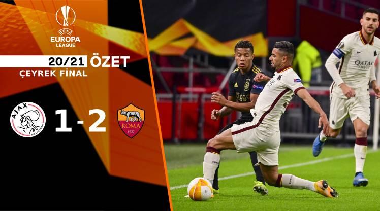 Ajax Roma maç özeti