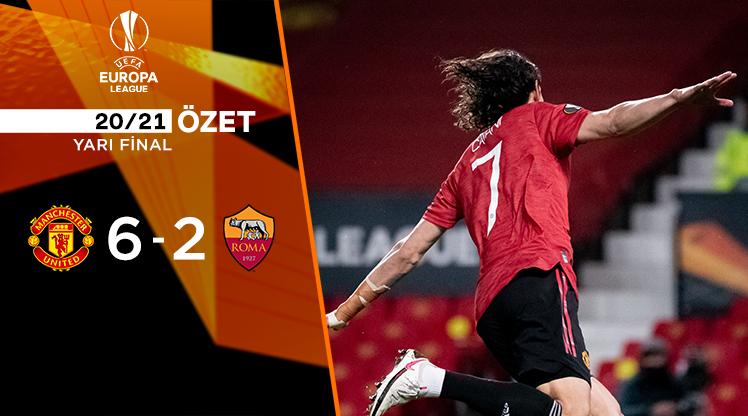 Manchester United Roma maç özeti