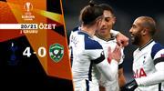 ÖZET   Tottenham 4-0 Ludogorets